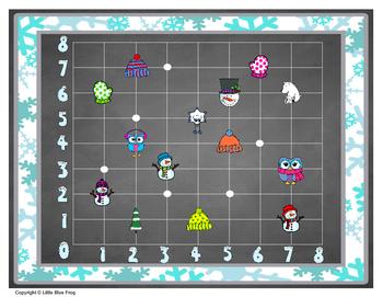 Winter Wonderland--coordinate pairs