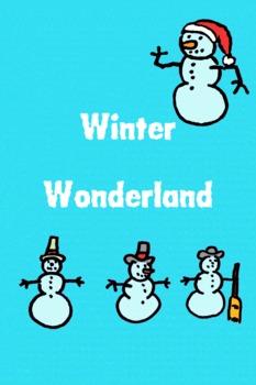 Winter Wonderland - make a Winter card