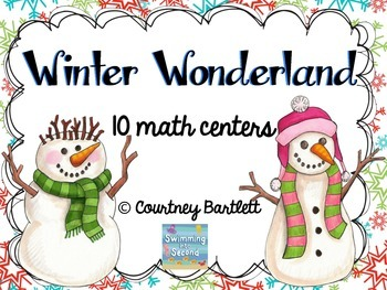 Winter Wonderland math centers