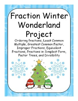 Winter Wonderland with Fractions