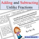 Adding and Subtracting Fraction With Unlike Denominators