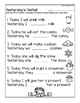 Winter Wonders NO PREP Elementary Speech and Language Worksheets and Activities