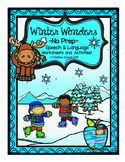 Winter Wonders NO PREP Elementary Speech and Language Work