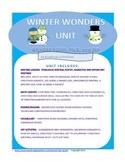 Winter Wonders Unit, Christmas, Writing, Math, Twelve Days of Christmas