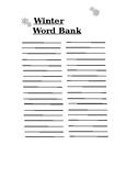 Winter Word Bank