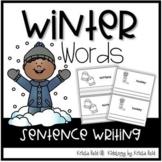 Winter Word Emergent Reader