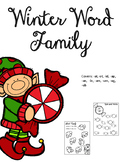 Winter Word Families
