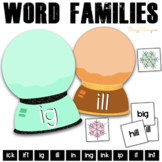 Winter Phonics Activities: short I words {Snow Globes}