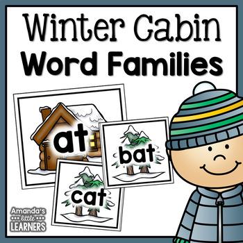Winter Word Family Sort