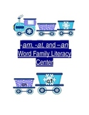 Winter Word Family Trains
