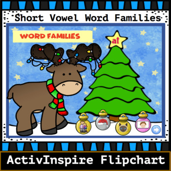 Winter Word Family Trees: Activinspire Flipchart