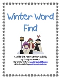 Winter Word Find