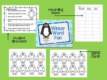 Winter Word Game