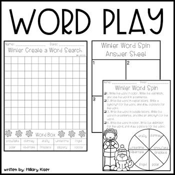 Winter Word Play