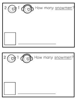 Winter Word Problem Book