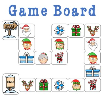 Winter Word Problem Center Game- Addition and Subtraction within 20