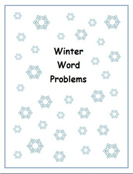 Winter Word Problems