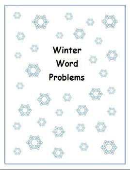 Winter Word Problems