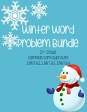Winter Word Problems- 2nd Grade