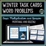 Winter Word Problems Basic Multiplication and Division