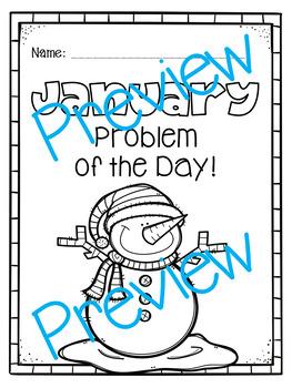 Winter Word Problems & Math Interactive Notebook Activities Pack!