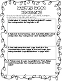 Winter Word Problems (addition and subtraction)