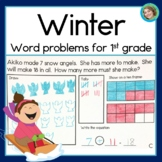 Winter  Word Problems with Addition and Subtraction
