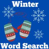 Winter | Preschool Kindergarten 1st Grade | Worksheet Acti