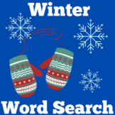 Winter Worksheet Word Search