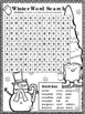 Winter Word Search *EASY