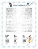 Winter Word Search- Harder 32 Words