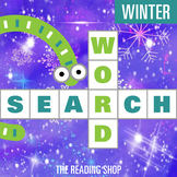 Winter Word Search Puzzle - 3 Levels Differentiated