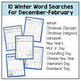 Winter Word Searches