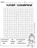 Winter Word Searches (freebie)