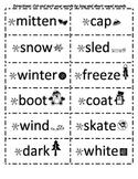 Winter Word Sort (long/short vowels)