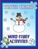 Winter Word Study Activity Pack - including Christmas, Hanukkah, & Kwanzaa