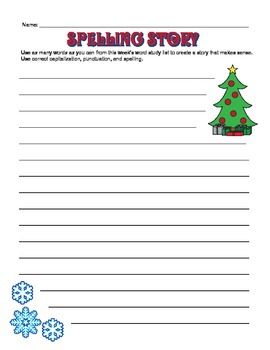 Winter Word Study Activity Pack - including Christmas, Hanukkah, & Kwanzaa