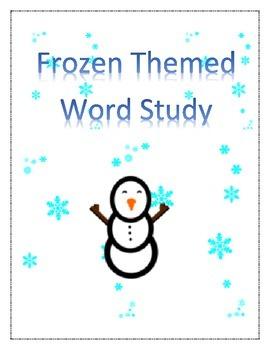 Winter Word Study Bundle