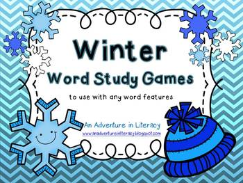 Word Study Games (Any Word Feature) Winter
