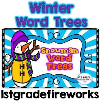 Winter Word Trees