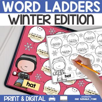 Winter Word Walk Pack