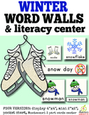 Winter Word Walls and Winter Literacy Center