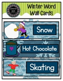 Winter Word Wall Cards (pdf)