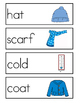 Winter Word Wall Vocabulary Cards