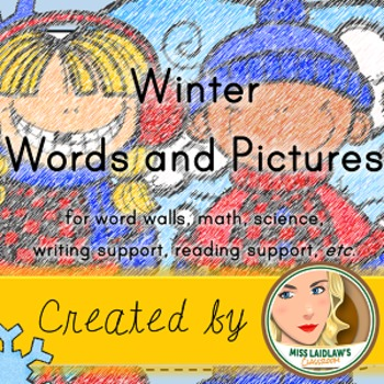 Winter Word Wall and Vocabulary