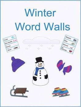 Winter Word Walls