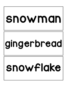 Winter Word Word
