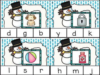 Winter Word Work Activities- Freebie