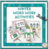 Winter Word Work Activities- Freebie