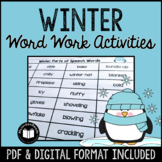 Winter Word Work & Literacy Activity Packet